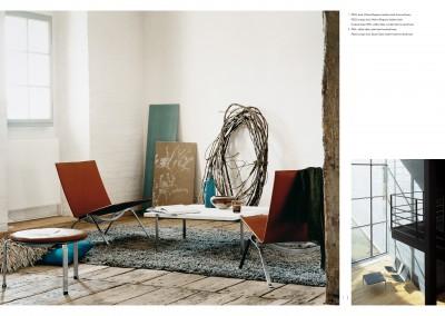 Fritz Hansen catalogue. PK spread