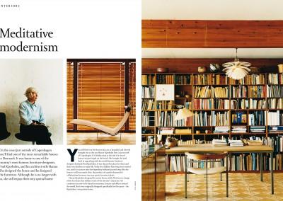 Fritz Hansen Republic magazine. Meditative Modernism