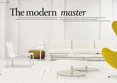 Fritz Hansen Republic magazine. The Modern Master (1)