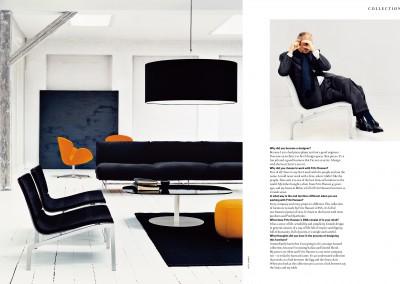 Fritz Hansen Republic magazine. The Modern Master (2)