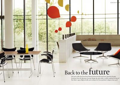 Fritz Hansen Republic magazine. Back to the Future (1)
