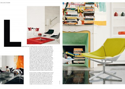 Fritz Hansen Republic magazine. Back to the Future (2)