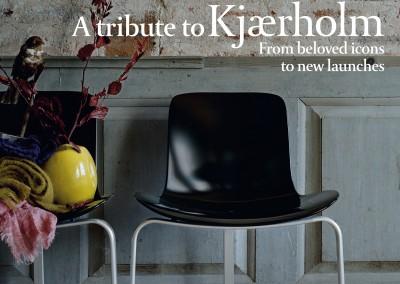 Fritz Hansen Republic magazine. A tribute to Kjærholm cover