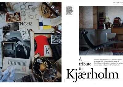 Fritz Hansen Republic magazine. A tribute to Kjærholm (1)