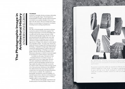 Valand Academy, University of Gothenburg / Department of Architecture, Chalmers. Architecture, Photography and the Contemporary Past book (4)