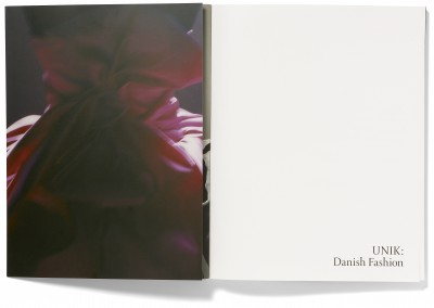 Danish Design Centre. Unik: Danish Fashion exhibition catalogue (1)