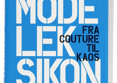 Politiken publishing. Modeleksikon book cover