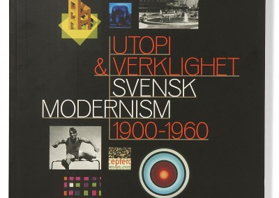 Moderna Museet. Utopi & Verklighet exhibition catalogue cover