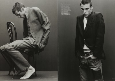 Arena magazine. The Sitter (2)