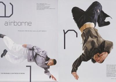 Arena magazine. Airborne (1)