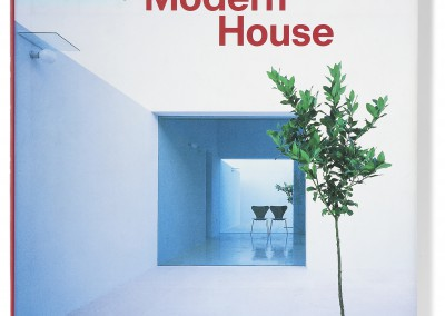 Phaidon publishing. Modern House book cover