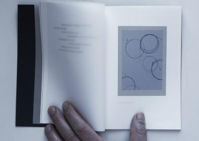 Petals, Metal. Water: Black. Artist's book (2)