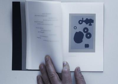 Petals, Metal. Water: Black. Artist's book (5)