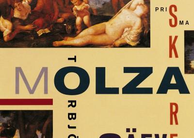 Prisma publishing. Molza älskaren book cover