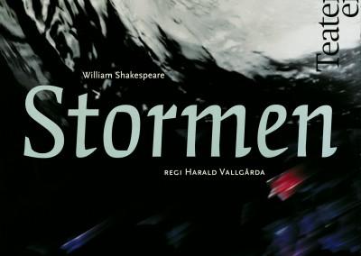 Teaterensemblen. Stormen theatre poster