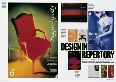 Blueprint magazine. Design in Repertory