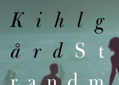 Bonniers publishing. Strandmannen book cover
