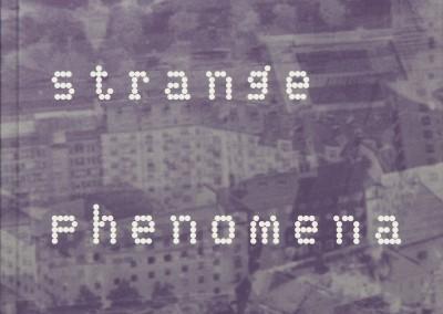 Moderna Museet / NUNSKU. Strange Phenomena exhibition catalogue cover