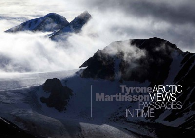 Valand Academy / Art and Theory Publishing. Tyrone Martinsson, Arctic Views – Passages in Time book cover