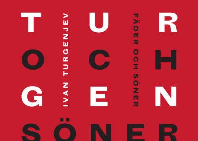 Ivan Turgenjev Fäder och söner book cover