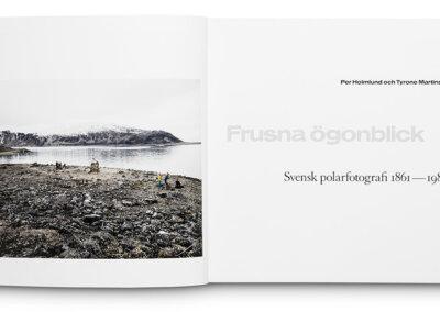 Frusna ögonblick book spread